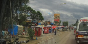 Typical Mbeya outskirts scene.