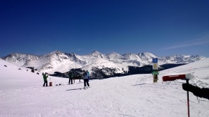 A bluebird day at Copper Mountain