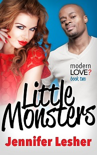 Book cover modern love little monsters