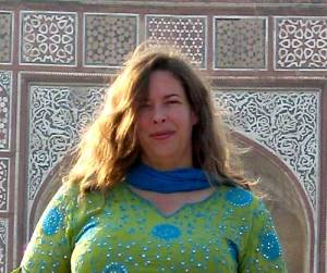 Jennifer Lesher in Agra