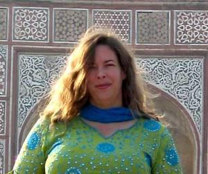 Jennifer Lesher in Agra